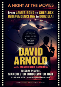 David Arnold - A Night at the Movies Manchester 14 April 2015