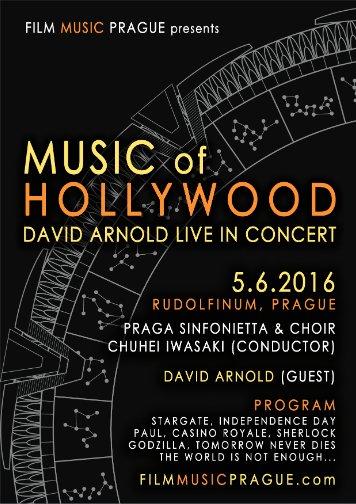 David Arnold's Prague flyer