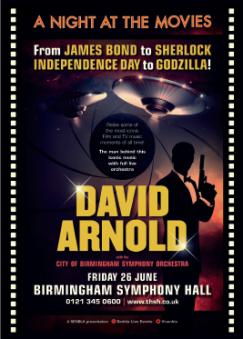 David Arnold Birmingham June 2015 flyer