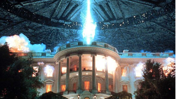 Image showing scene from Independence Day