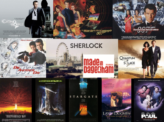 An example of David Arnold's scores - click to visit the soundtracks page